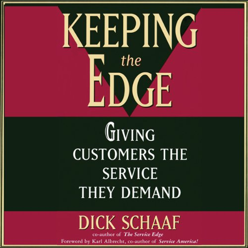 Keeping the Edge audiobook cover art