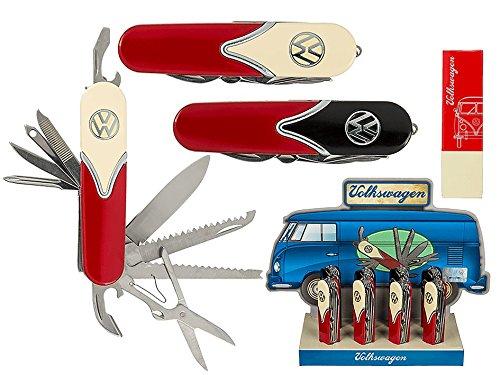 Metall-Taschenmesser VW Style mit 14 Funktionen