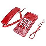 Nannday Telefono a Muro, Estensione del Telefono Fisso a Parete Nessun ID chiamante Telefono di casa per la Famiglia dell'hotel(1#)