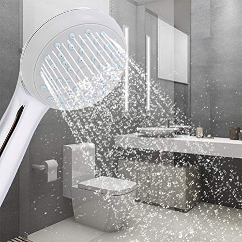 OyunngsCabezal de Ducha Lavable de Mano portátil con Potente rociador de Ducha, para Uso en el baño del apartamento del Hotel casero
