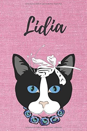 /Über 2500 Namen bereits verf eine Coverfinish 80 blanko Seiten mit kleiner Katze auf jeder rechten unteren Seite DIN A5 Serafine: Personalisiertes Notizbuch Durch Vornamen auf dem Cover