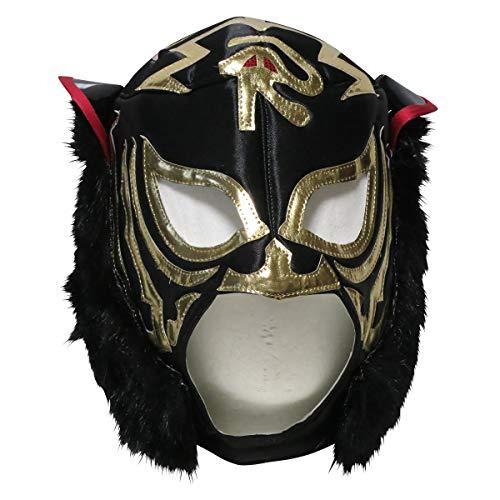 【プロレスマスク】暗黒の虎 ブラックタイガー 二代目 応援用マスク byアレナメヒコ ルチャリブレ プロレス