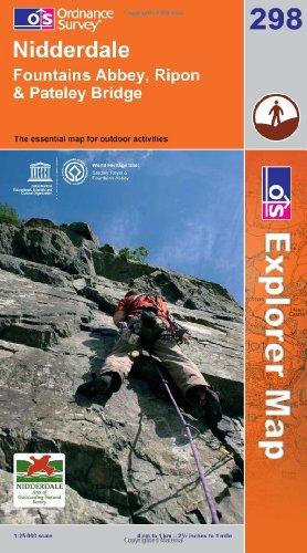 OS Explorer map 298 : Nidderdale