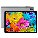 LNMBBS T610 Tablet 10 Zoll, 1.8 Ghz Tablet Android 10.0, Octa-Core Prozessor, 1920 * 1200 FHD IPS, 5G WiFi Tablet PC mit 4GB RAM, 64GB ROM, Face ID, Bluetooth, GPS, Grau