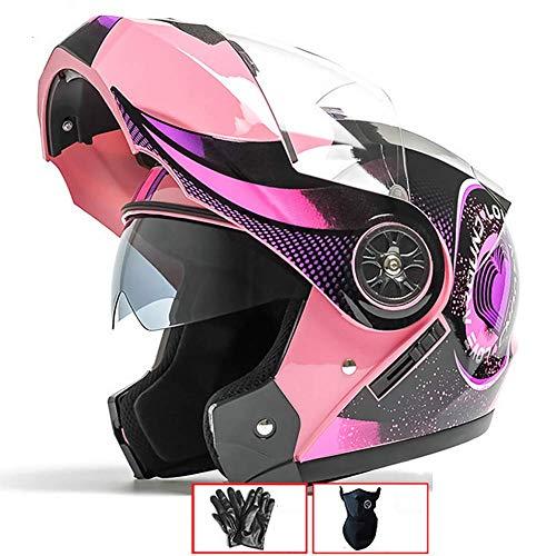 /XXL 53//–/64/cm Negro Integral de casco de scooter de Casco Moto Casco Botes de casco Full Face Cruiser ECE Certificado Incluye Visera XS/ SOXON St de 1000/Race Black