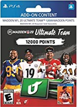 $99 » MADDEN NFL 20:  MUT 12000 MADDEN POINTS PACK - [PS4 Digital Code]