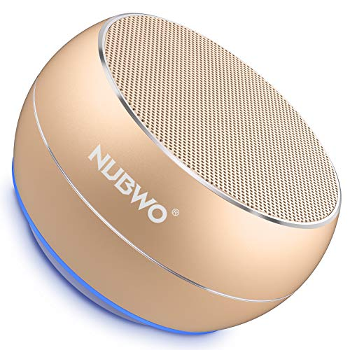 NUBWO Portable Bluetooth Speakers with HD Audio and Enhanced Bass, Built-in Speakerphone...