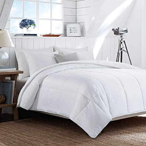 HOMBYS Lightweight Cooling Bamboo Comforter King Size Quilted Down Alternative Comforter Duvet Insert,100% Bamboo Cover with 8 Corner Tabs,Summer Comforter, for Night Sweats,for Hot Sleepers