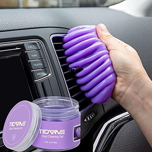 TICARVE Auto Reinigungsgel für den Innenraum, Tastatur Reinigungsgel aus umweltfreundlichem, Auto Innenraum Reiniger Autoreinigung Autopflege Reinigungsschleim Tastatur Reiniger für Laptop