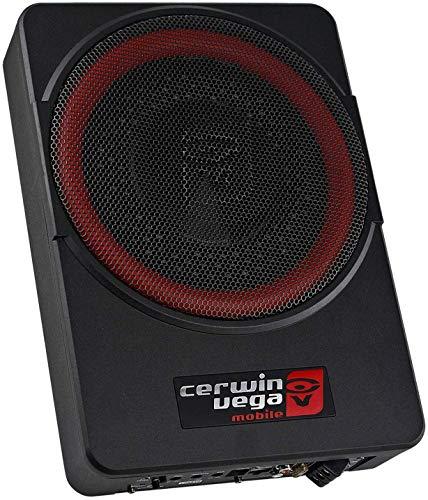 "Cerwin Vega VPAS10 10"" 2Ω 550W Max / 200W RMS Powered Active Subwoofer Enclosure + Bass Knob"