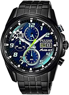 Pulsar Gents Analogue Quartz M Sport Limited Edition Watch with Stainless Steel Bracelet - PZ6037X2 (B081D4ZKBY)   Amazon price tracker / tracking, Amazon price history charts, Amazon price watches, Amazon price drop alerts