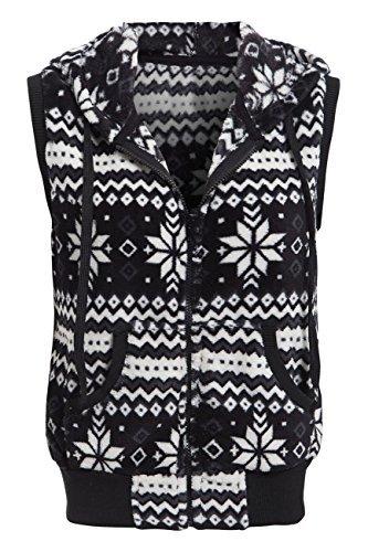 SS7 dames Norweger vest dames maat 8-10 12 vest fleece jack zwart