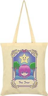 Deadly Tarot Kawaii The Star Cream Tote Bag 38x44cm