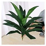 Bonsai Artificial Planta artificial de 31 pulgadas, plantas falsas en macetas Faux Plastic Bonsai, usado para jardín balcón decoración de la sala de escritorio, sin cuenca plantas falsas