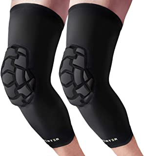 BERTER Knee Brace - Anti Collision Knee Pads Support - Men Women Knee Leg Compression Sleeve for Basketball, Volleyball, Running, Working Out (1 Pair)