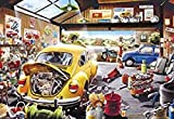 TTbaoz Rompecabezas Rompecabezas dePapel de1000 Piezaspara niños Adulto-Tienda de reparación Rompecabezas de Alta dificultadDescompresión Juegos educativos Juguetes