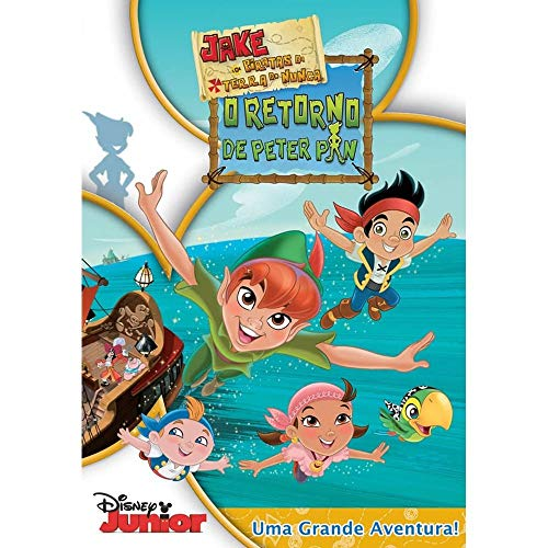 DVD - Jake e os Piratas da Terra do Nunca - O Retorno de Peter Pan
