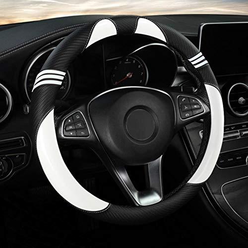 NFRADFM Autolenkradabdeckung 38 cm, Für BMW 5er 3er 2er 6er 1er 7er Innenraumzubehör