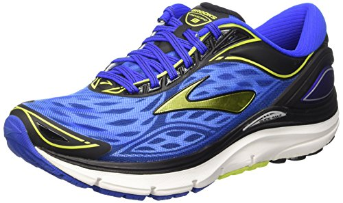 Brooks Transcend 3 M, Zapatillas de Running para Hombre, Electric Brooks Blue/Lime Punch/B, 42 1/2 EU