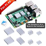 GeeekPi 8PCS Dissipateurs de Chaleur pour Raspberry Pi 4 Modèle B,Raspberry Pi...
