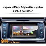 LFOTPP Jaguar XE X760 XJL 8 pulgadas Navegación Protector de pantalla - 9H Cristal Vidrio Templado GPS Navi película protegida Glass