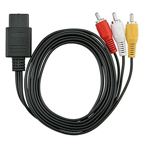 Lioncast AV/TV Kabel voor SFC SNES N64 Super Nintendo GC NGC standaardaansluitingen