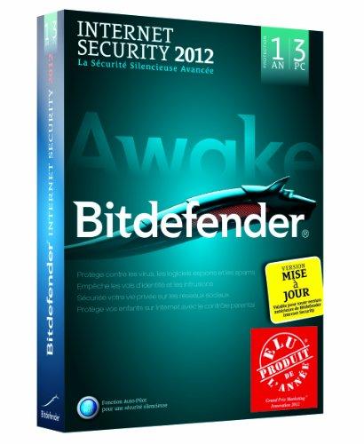 Bitdefender Internet Security 2012 (3 postes, 1 an) - mise à jour