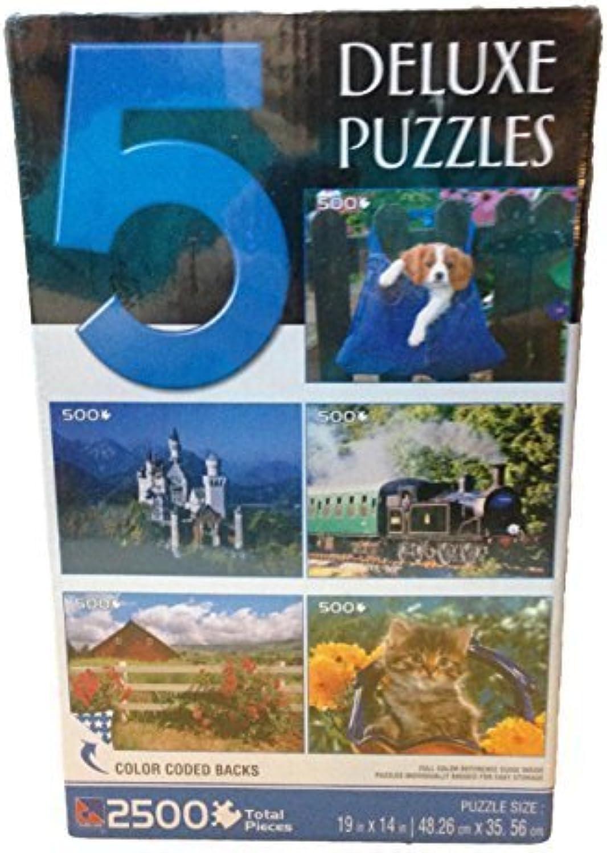 Descuento del 70% barato Sure-lox 5 5 5 Deluxe Jigsaw Puzzles by Sure-Lox  nuevo listado