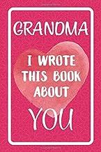 Best grandma fill in book Reviews