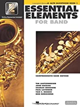 Essential Elements 2000: Eb Alto Saxophone, Book 1 PDF