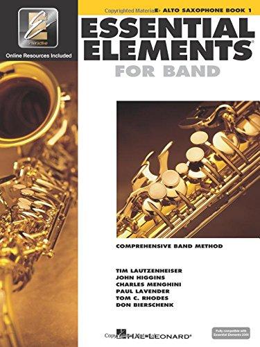 Essential Elements 2000: Eb Alto Saxophone, Book 1