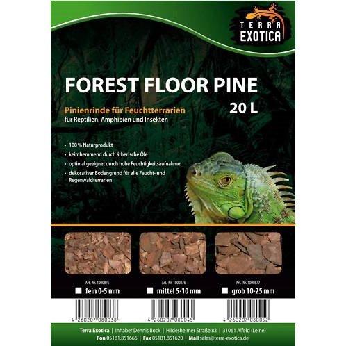 Terra Exotica Forest Floor Pine 20L - Pinie fein 0-5 mm