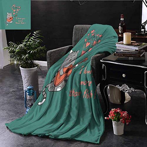 GGACEN bank deken jacht en vissen vintage embleem ontwerp Antler hoorns Mallard dennenboom zacht, fuzzy, gezellig, lichtgewicht dekens