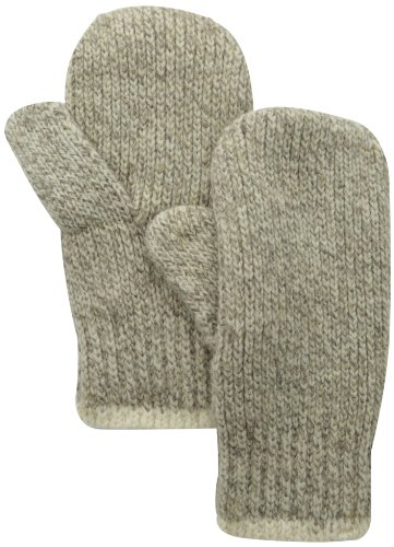 Fox River Double Ragg Mitt, Brown Tweed Large