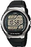 [カシオ] 腕時計 ウェーブセプター 電波時計 MULTI BAND5 デジタルモデル ELバックライトタイプ WV-58J-1AJF メンズ ブラック