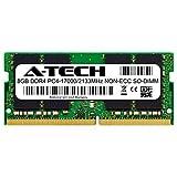 A-Tech 8GB Module for Dell Inspiron 15 3567 Compatible DDR4 2133MHz PC4-17000 Non-ECC SODIMM 1.2V - Single Laptop & Notebook Memory RAM Stick (ATMS397705A34066X1)