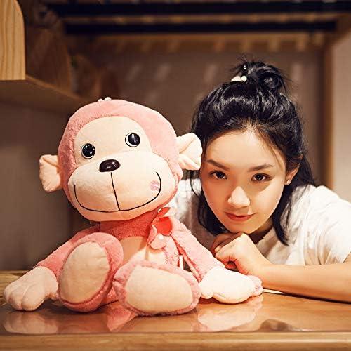 DONGER AFFE Puppe Niedlichen mädchen Schlafen Halten Puppe Super Niedlich Lustige Größe mädchen mädchen Puppe Spielzeug Faul, Rosa, 95cm