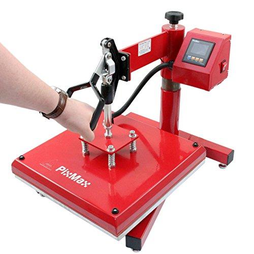 PixMax 38cm x 38cm Swing-Hitzepressmaschine - 5
