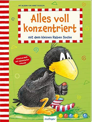 Der kleine Rabe Socke: Alles voll konzentriert mit dem kleinen Raben Socke: Konzentrationsübungen für Kinder ab 4 Jahren
