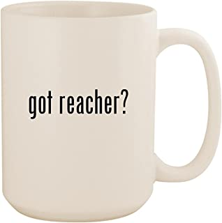 got reacher? - White 15oz Ceramic Coffee Mug Cup