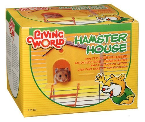 Living World Hamster House, with Step Ladder by Rolf C. Hagen (USA) Corp. (English Manual)