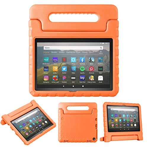 FUNMAX+ Coque Enfant Antichoc pour Fire HD 8 Tablette (Modèle 2020, 10ème Génération), Etui Housse de Protection en EVA Poids...