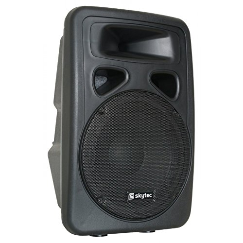 Skytec sp1500abt–Public Address Systems (2-Way, Freestanding, Wired, AC, Built-in, Black)