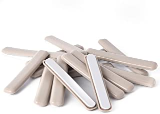 16Pack Self-Stick Furniture Sliders 1/2