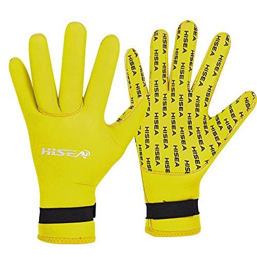LANCYG Neopren Handschuhe,Neopren Handschuhe Herren Tauchhandschuhe 3mm neopren männer Frauen warme schwimmhandschuhe Scuba tauchhandschuhe Schnorcheln Schwimmen ausrüstung zubehör