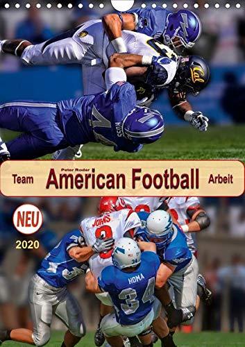 American Football, Team-Arbeit (Wandkalender 2020 DIN A4 hoch): Beispiellose Kombination von Taktik und Athletik. (Planer, 14 Seiten ) (CALVENDO Sport)