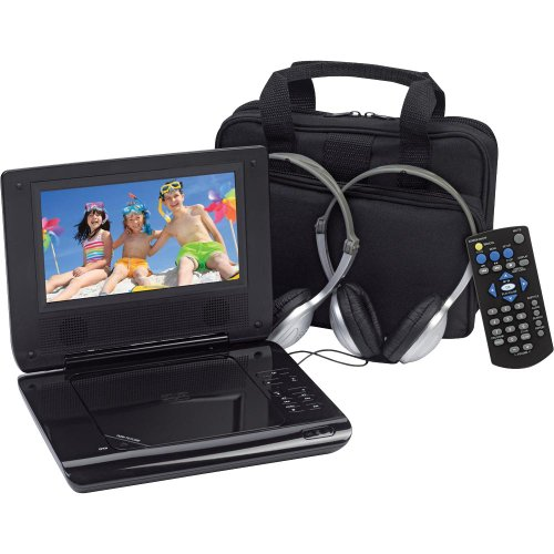 Amazing Deal Audiovox D705PK 7-inch Portable DVD Player with Car Headrest Mounting Kit