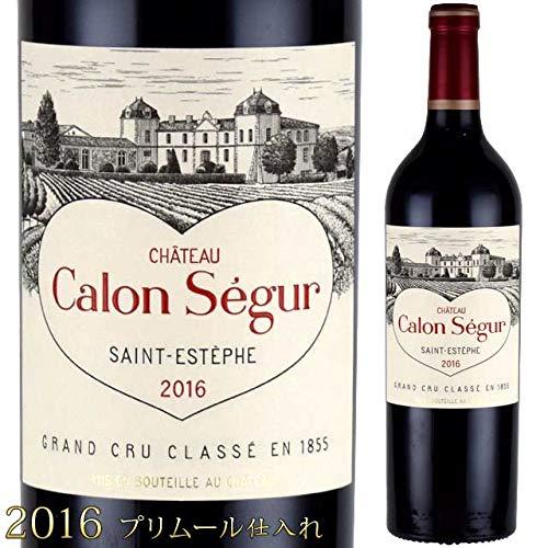シャトー・カロン・セギュール 2016 750ml赤 サンテステフ 格付3級 ボルドーワイン
