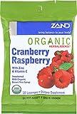 Zand Herbalozenge Herbal Cranberry Raspberry, 18 ct