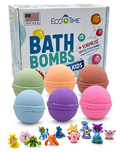 Handmade Bath Bombs for Kids with T…